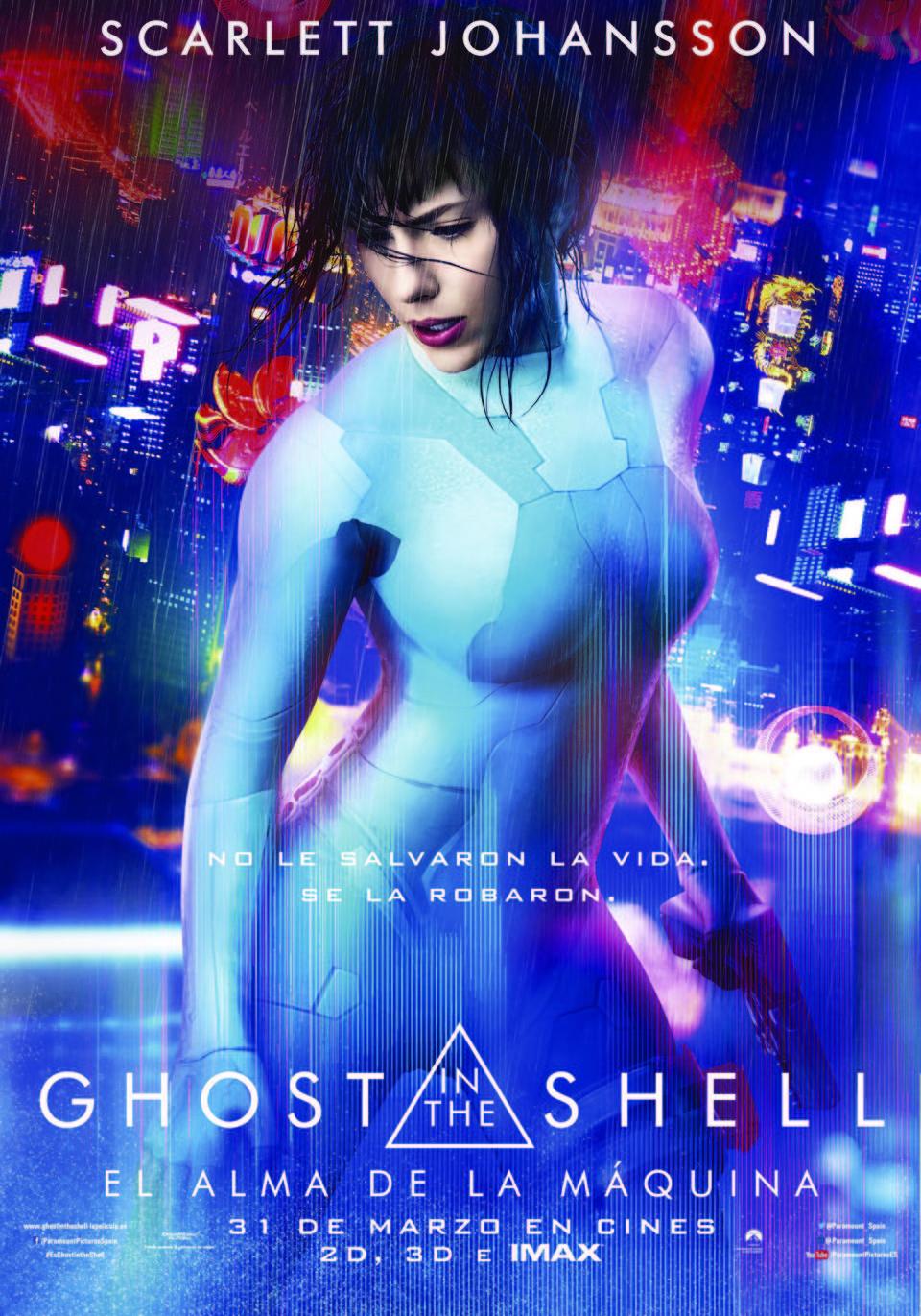 Cartel  de 'Ghost in the Shell: El alma de la máquina'