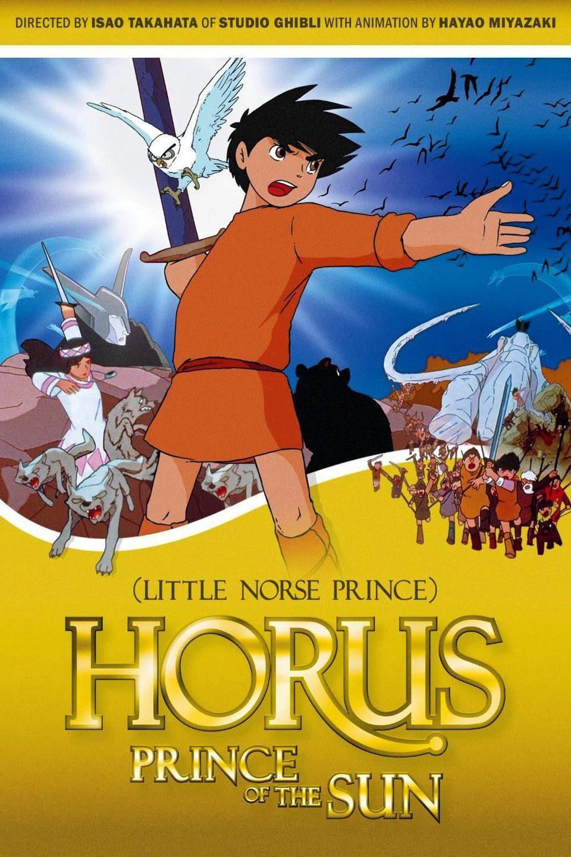 Cartel Estados Unidos de 'Las aventuras de Hols, el príncipe del Sol: La princesa encantada'