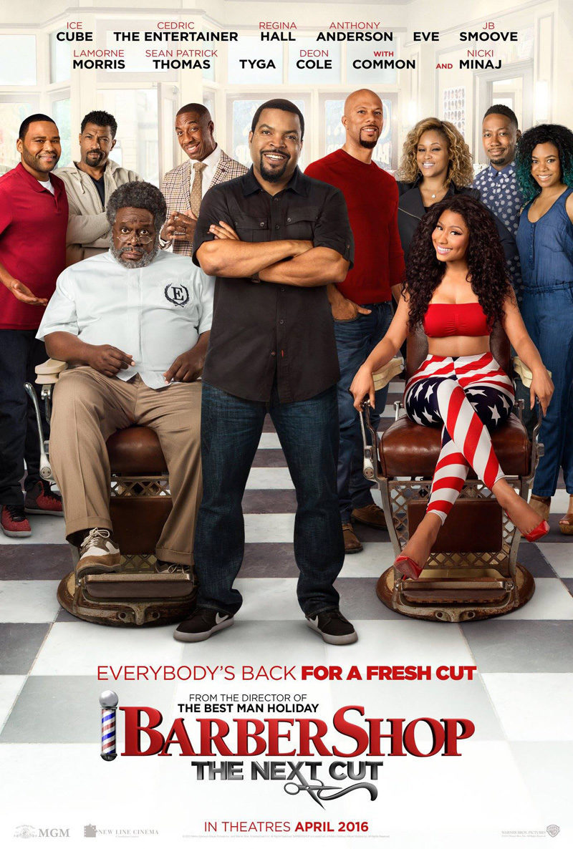 Cartel Estados Unidos de 'Barbershop: The Next Cut'