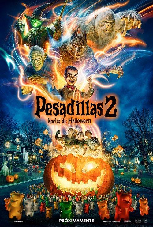 Cartel 'Pesadillas 2: Noche Halloween' de 'Pesadillas 2: Noche de Halloween'