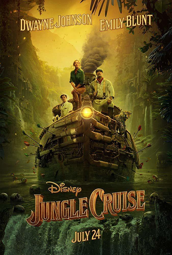 Cartel Póster inglés 'Jungle Cruise' de 'Jungle Cruise'