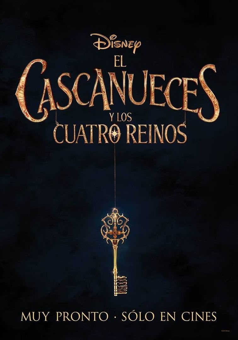 Cartel España de 'El cascanueces y los cuatro reinos'