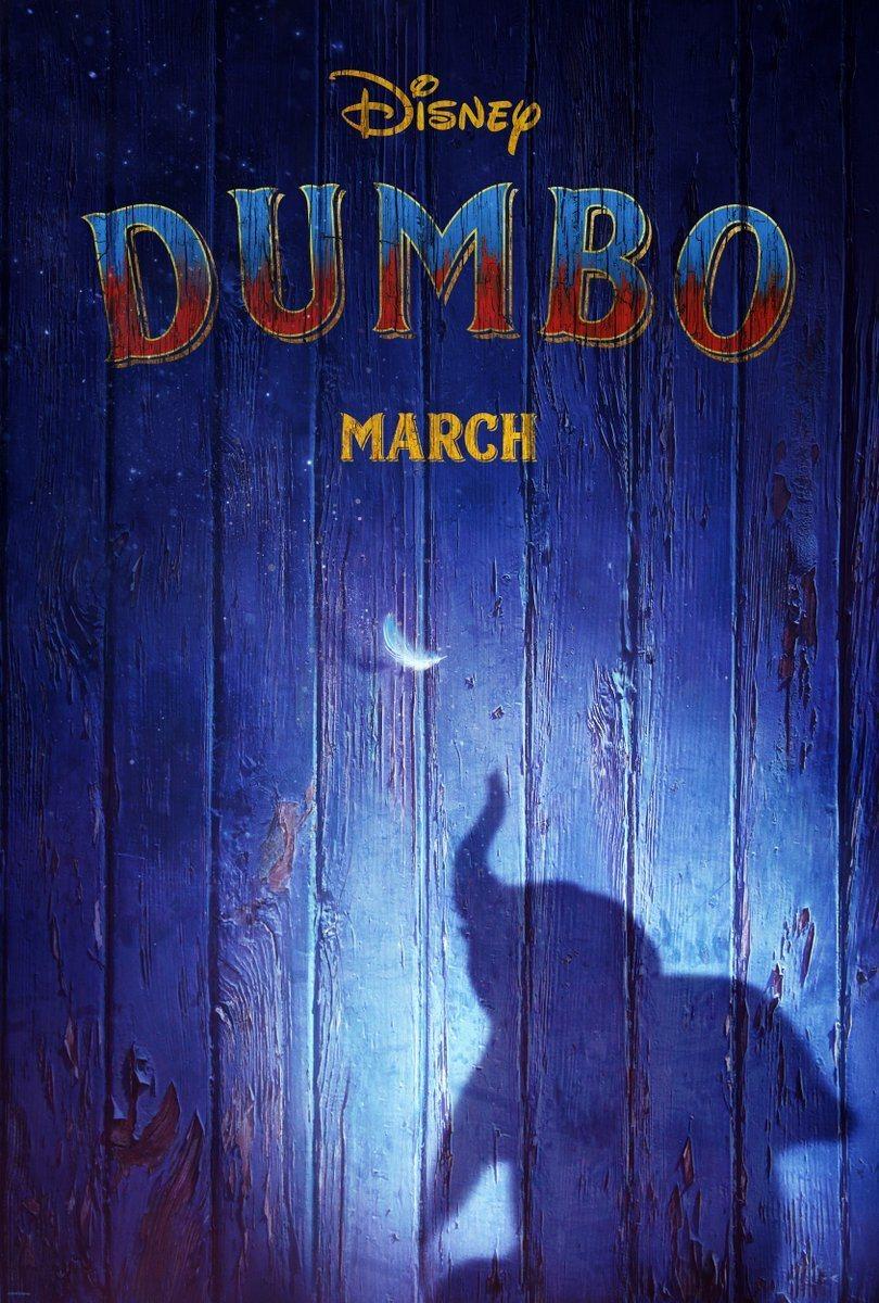Cartel Teaser póster de 'Dumbo'