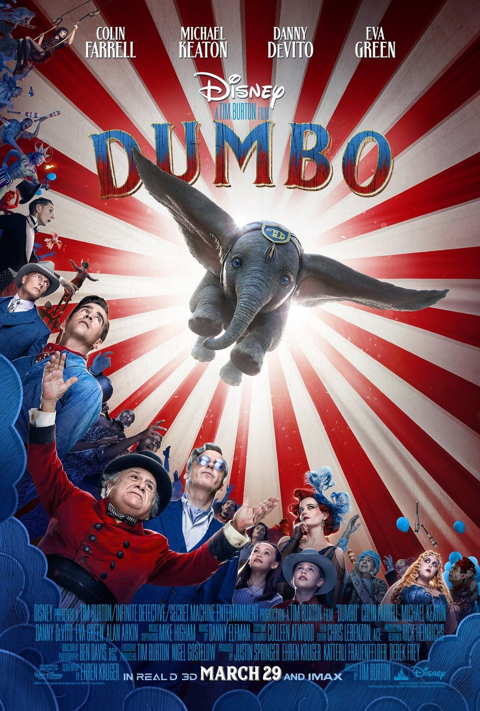 Cartel Póster de 'Dumbo'