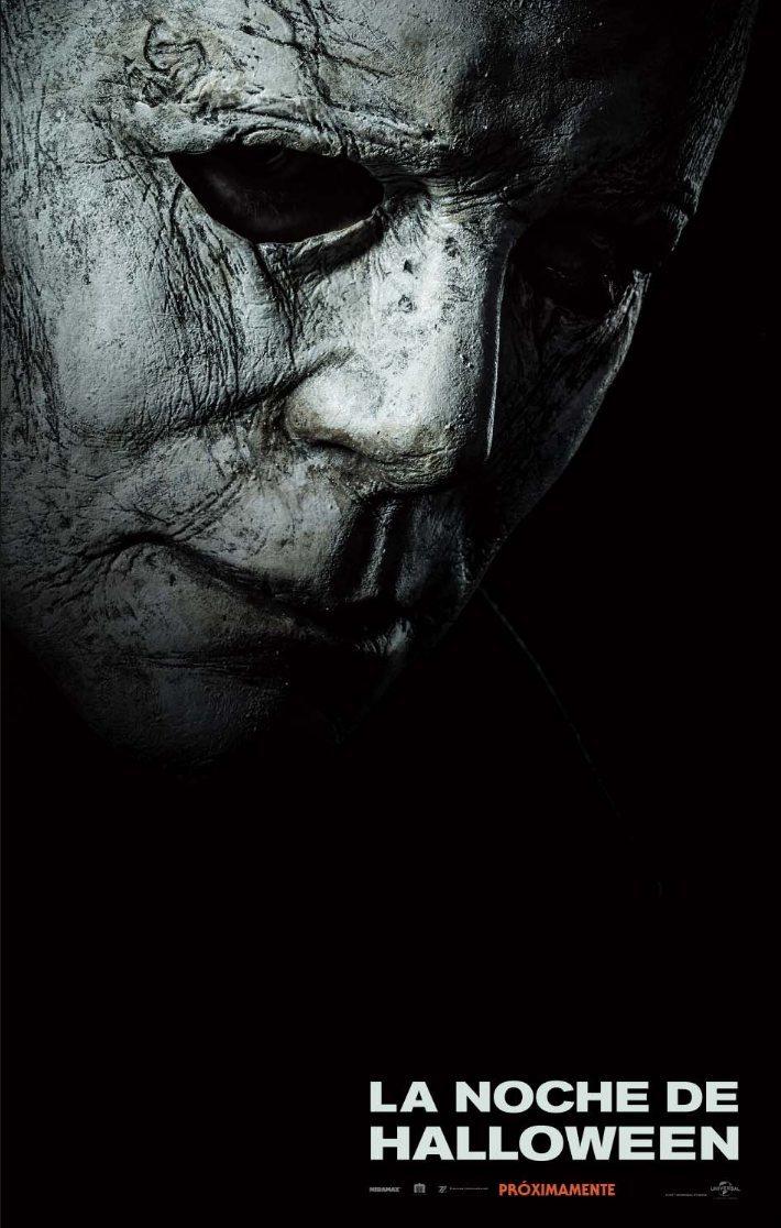 Cartel póster español de 'La noche de Halloween'
