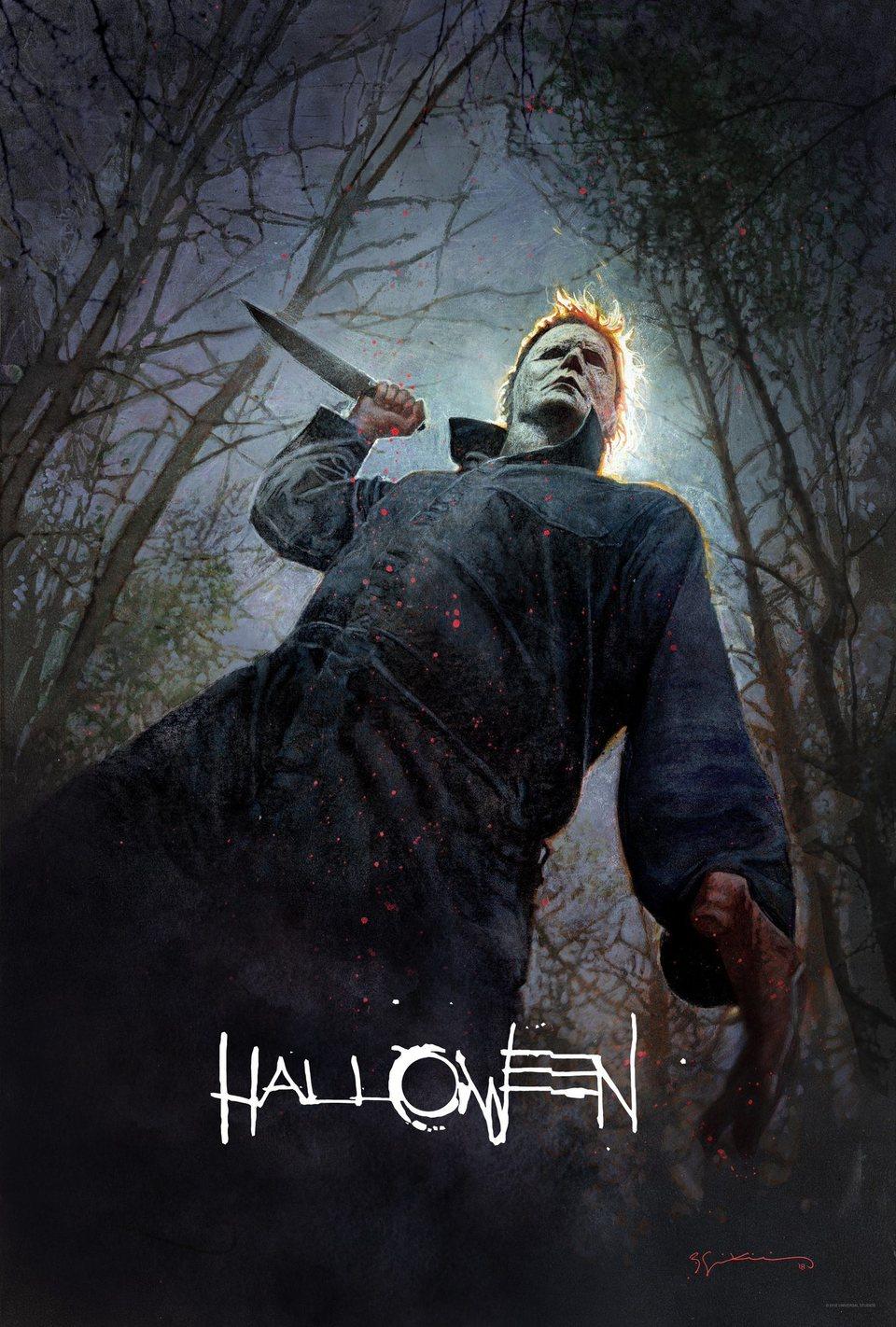 Cartel EE.UU. de 'La noche de Halloween'