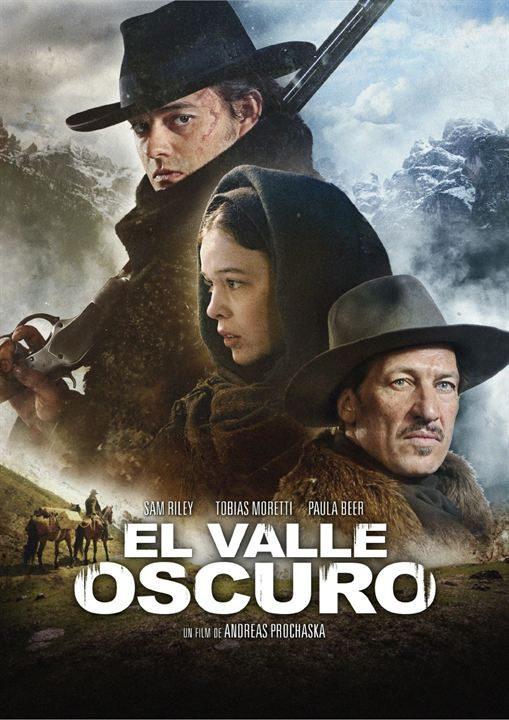 Cartel España de 'El valle oscuro'
