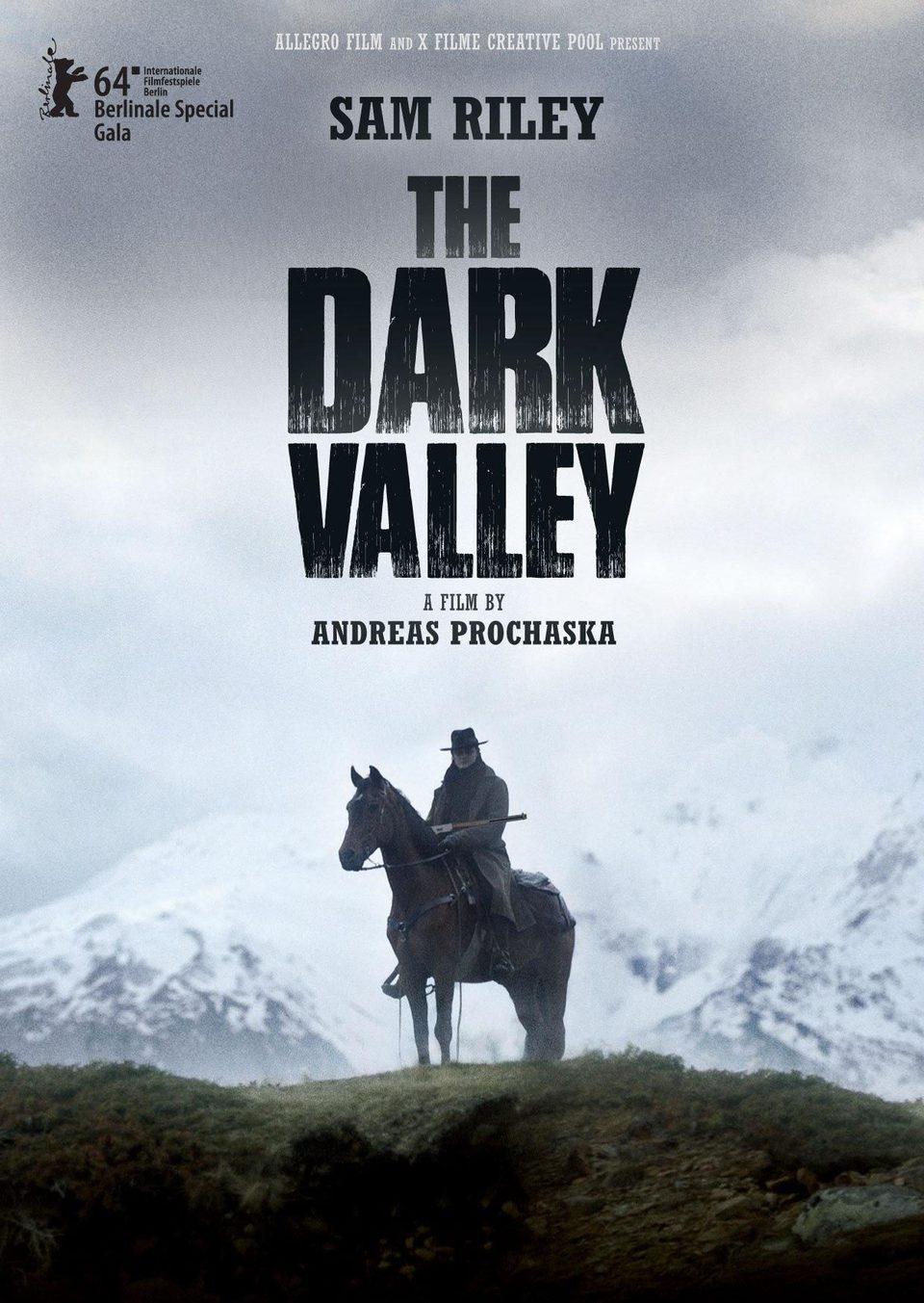 Cartel EE.UU de 'El valle oscuro'