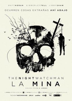 Cartel de La mina (The Night Watchman)