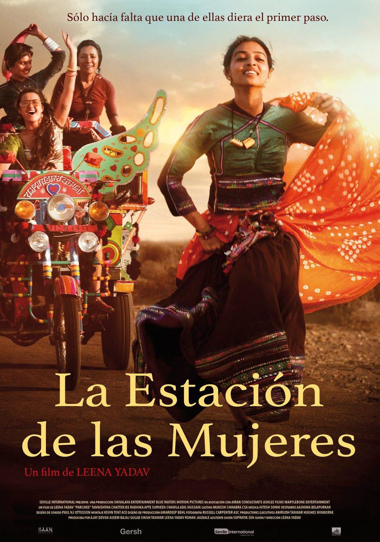 Cartel España de 'La estación de las mujeres'