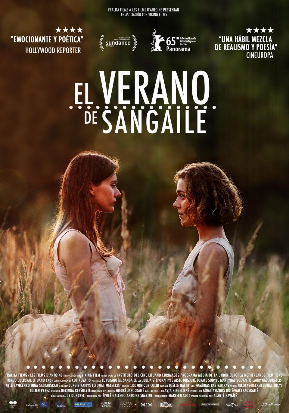 Cartel España de 'El verano de Sangaile'