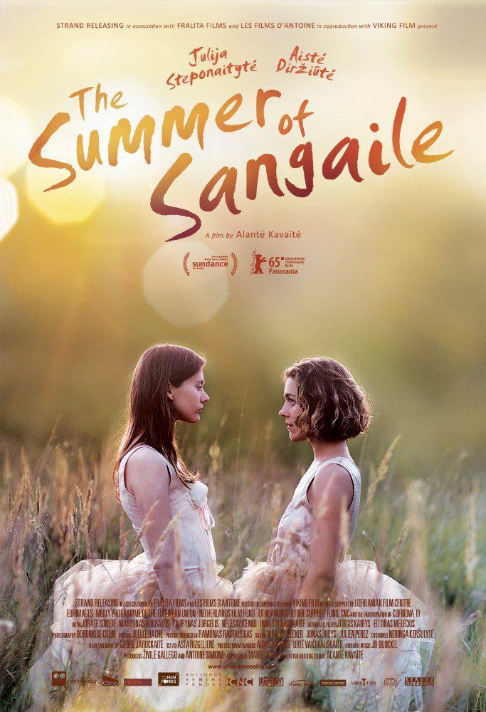 Cartel Estados Unidos de 'El verano de Sangaile'