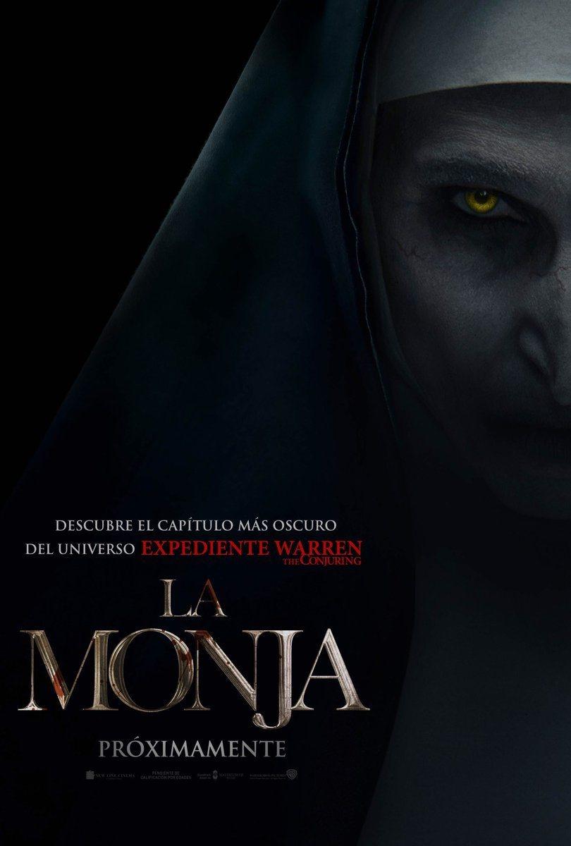Cartel Póster español de 'La Monja'