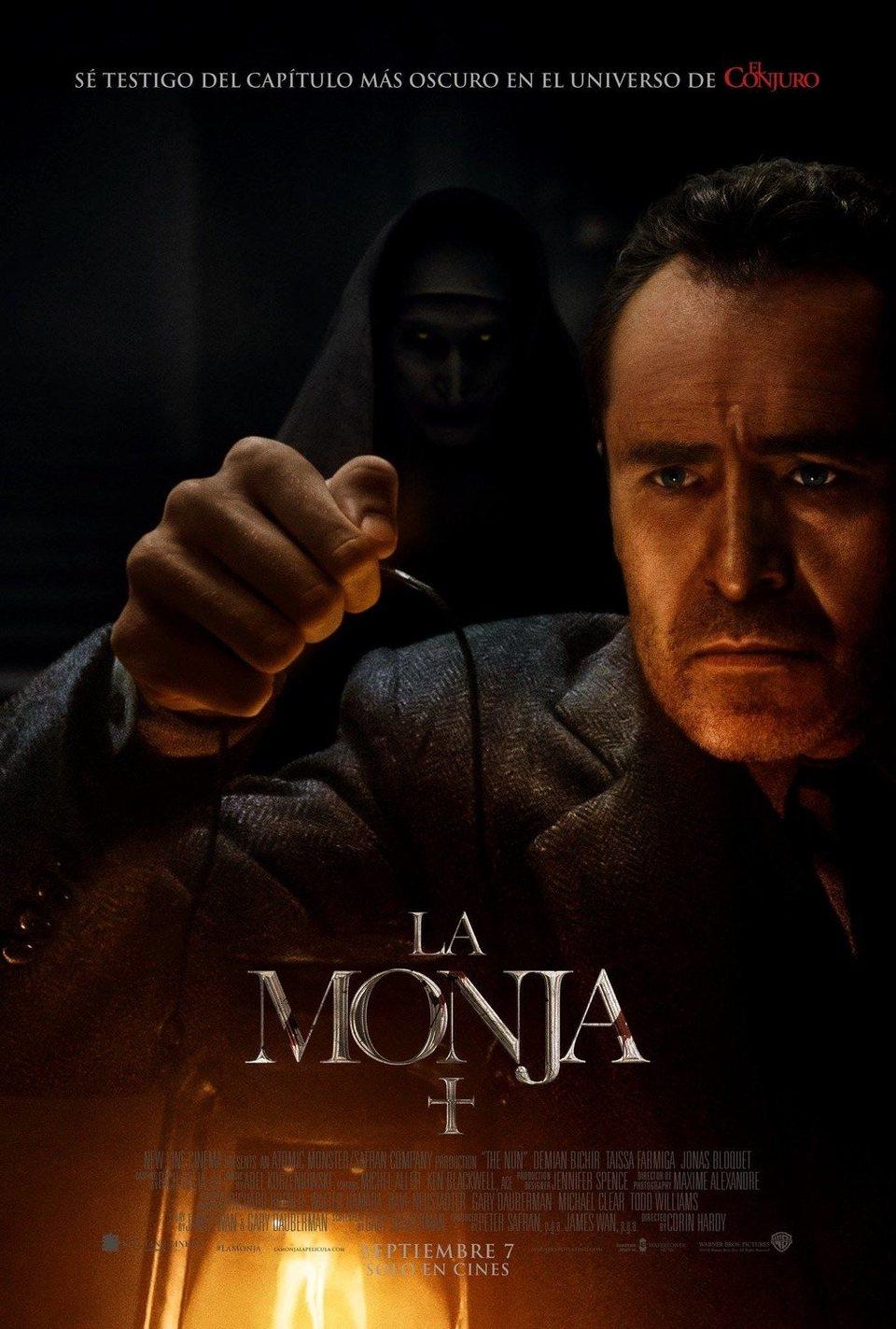 Cartel Poster español #3 de 'La Monja'