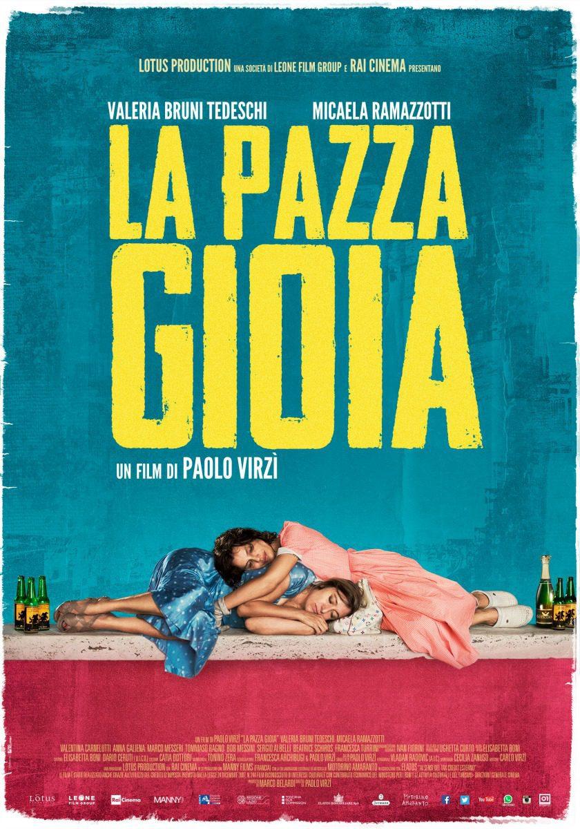 Cartel Italia de 'Locas de alegría'