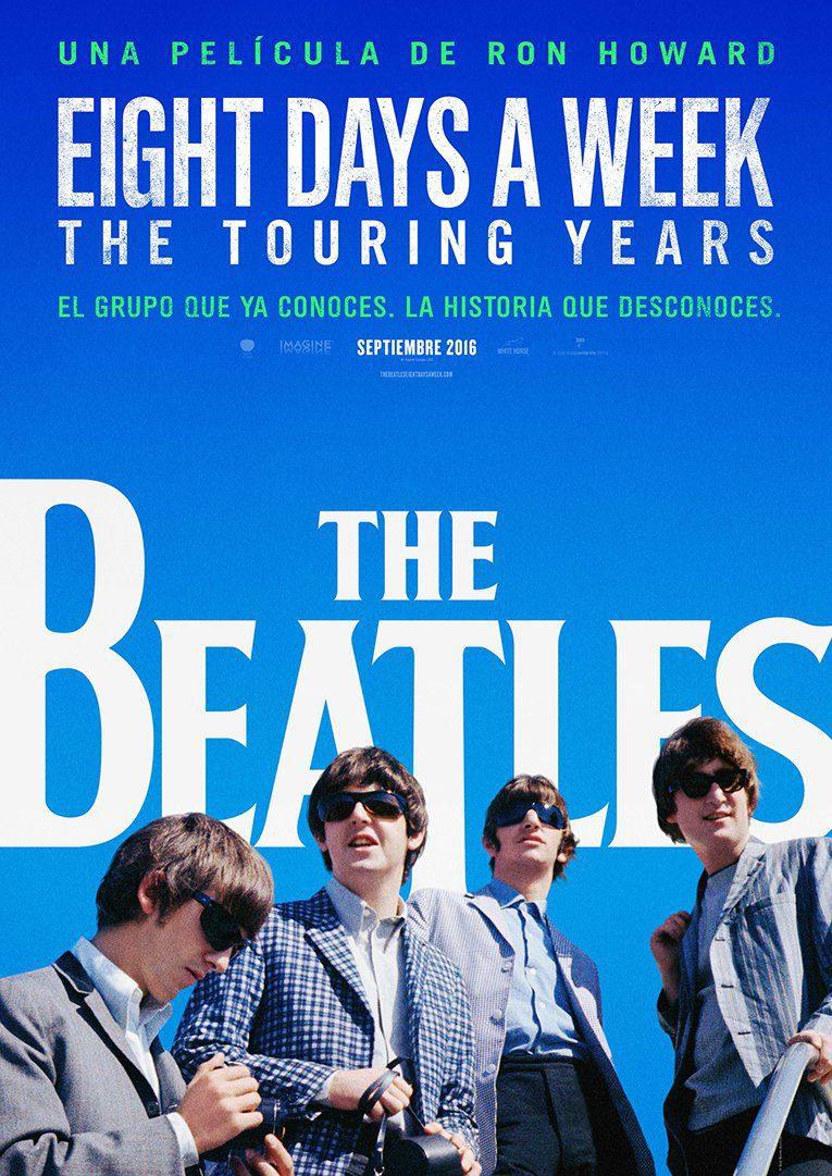 Cartel España de 'The Beatles: Eight Days a Week'