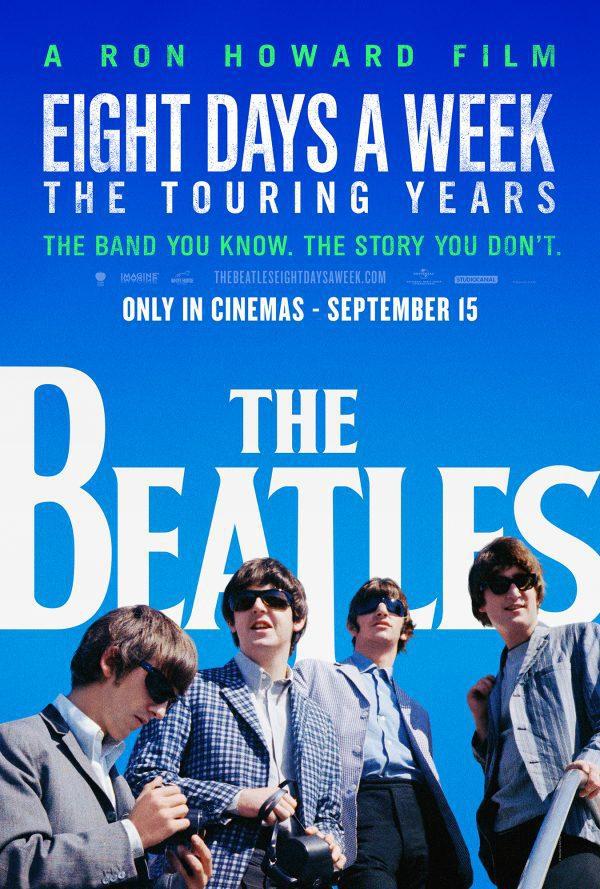 Cartel Estados Unidos de 'The Beatles: Eight Days a Week'