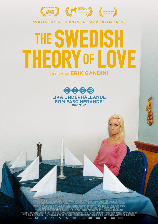 Cartel Suecia de 'The Swedish Theory Of Love'