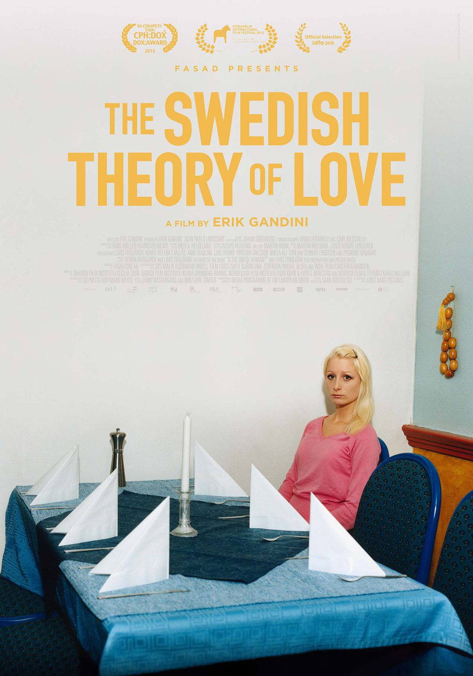 Cartel Reino Unido de 'The Swedish Theory Of Love'
