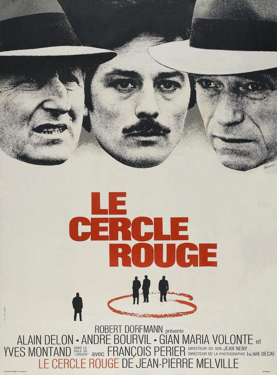 Cartel Francia de 'Círculo rojo'