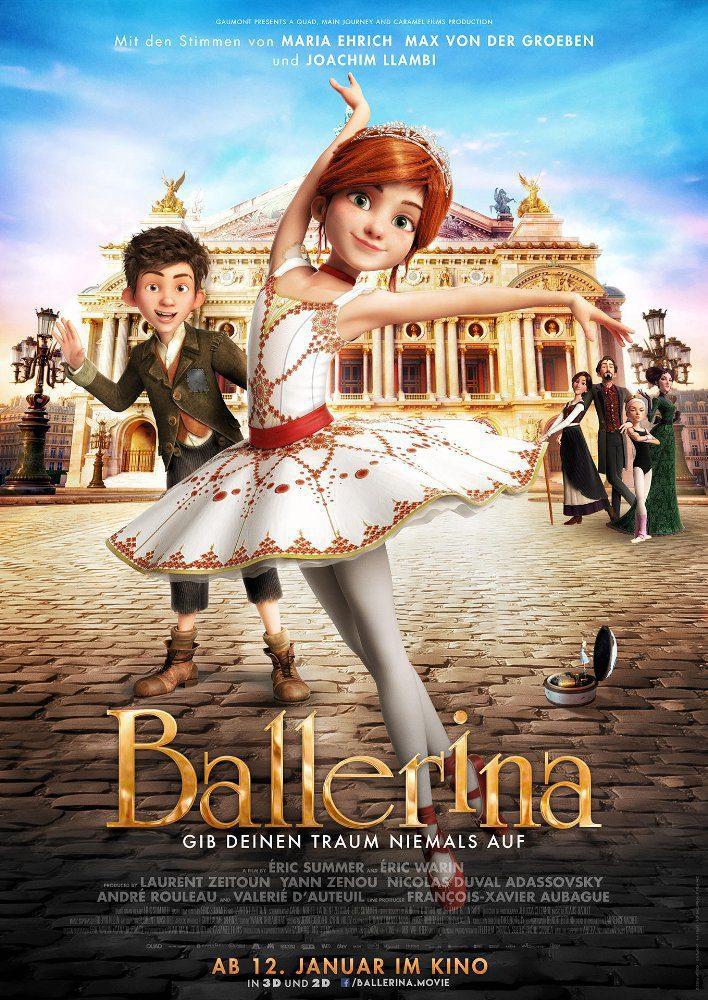 Cartel Alemania de 'Ballerina'