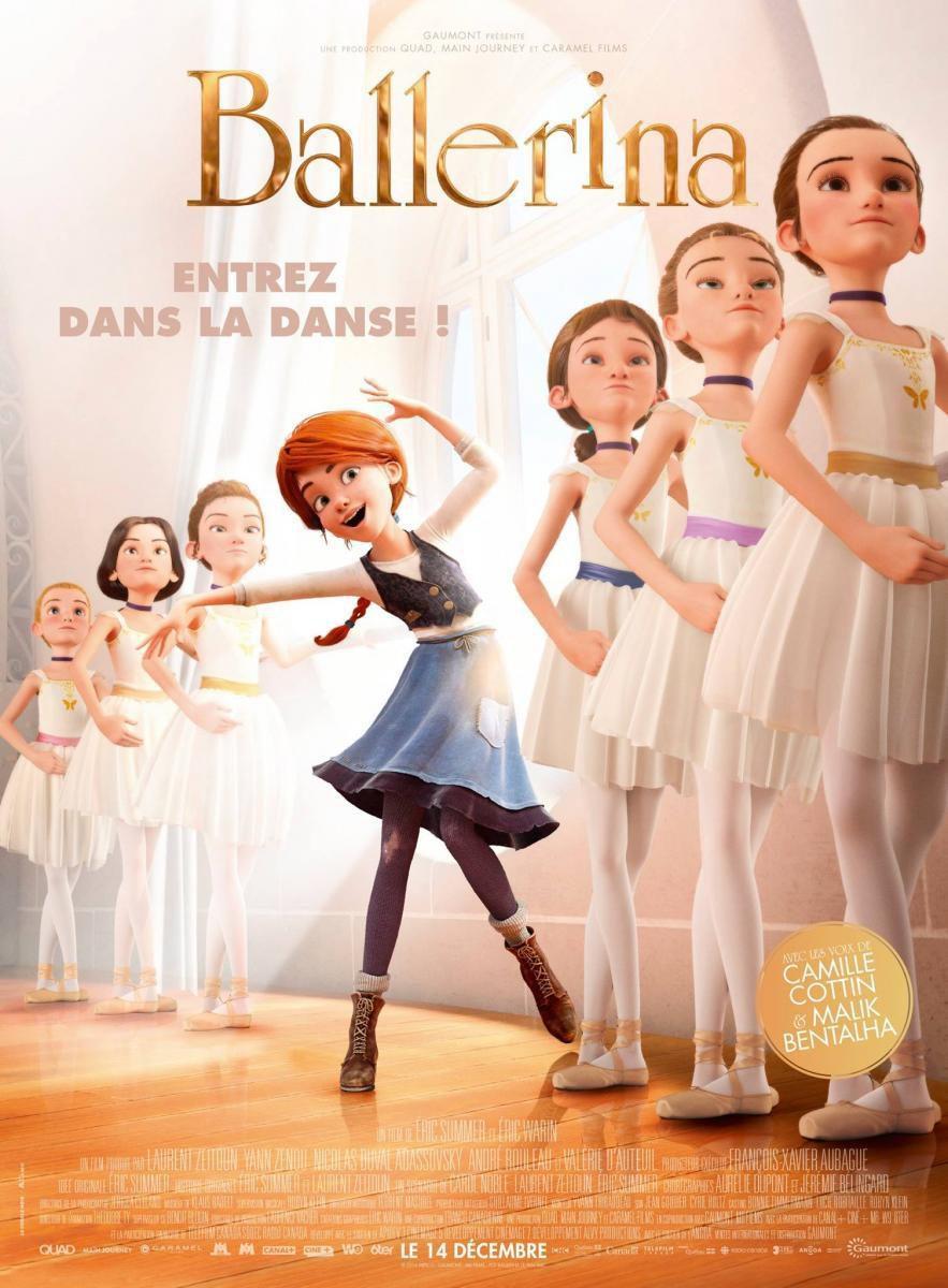 Cartel Francia de 'Ballerina'