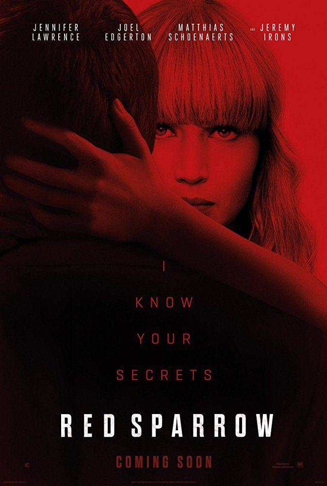 Cartel Teaser poster de 'Gorrión rojo'