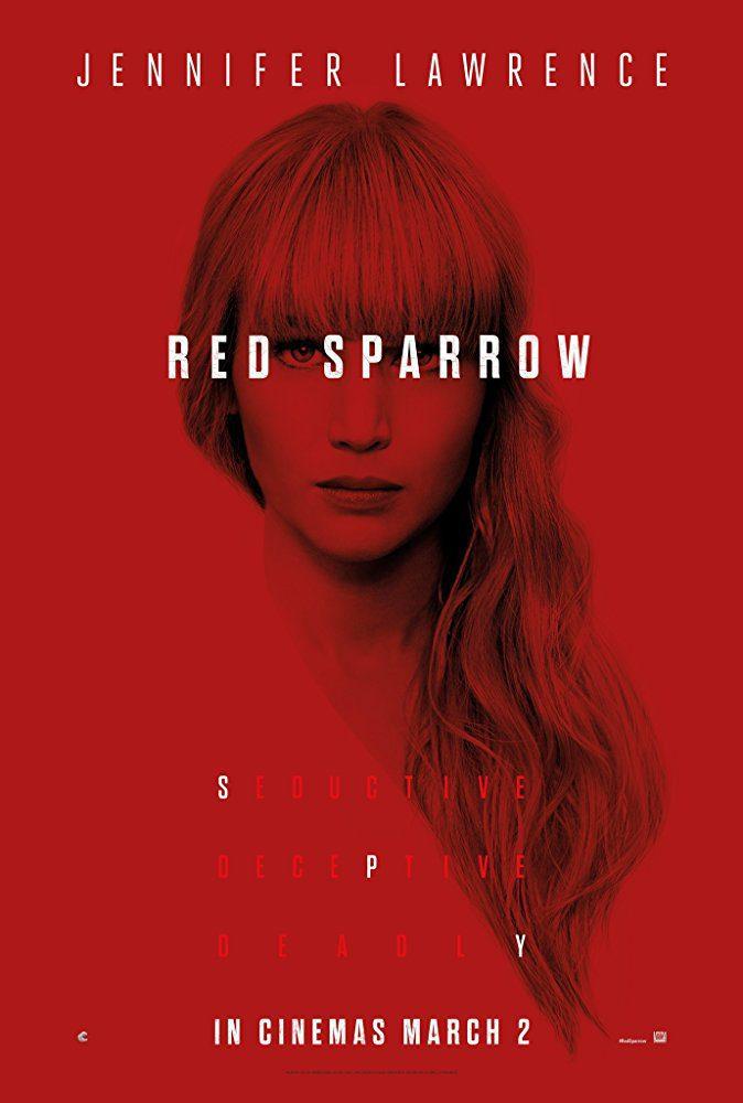 Cartel Poster Estados Unidos de 'Gorrión rojo'