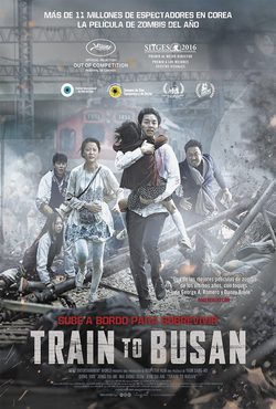 Cartel de Train to Busan