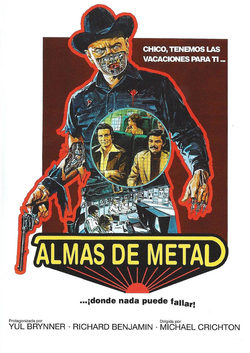 Cartel de Almas de metal (Westworld)