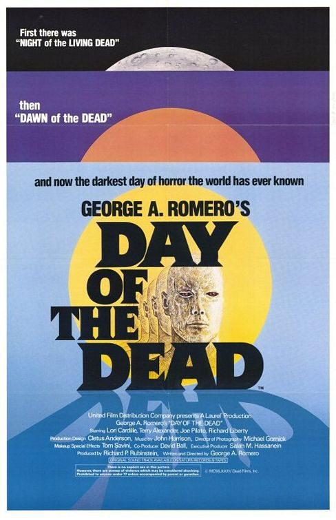 Cartel  de 'El día de los muertos'