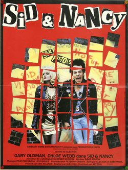 Cartel de Sid y Nancy