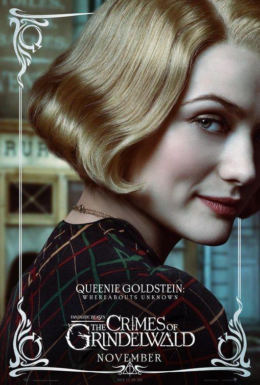 Cartel Queenie Goldstein de 'Animales Fantásticos: Los crímenes de Grindelwald'