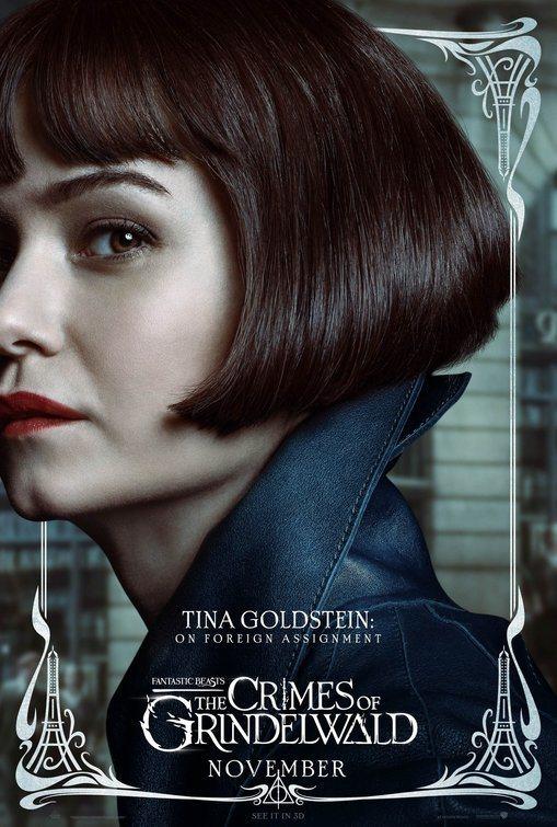 Cartel Tina Goldstein de 'Animales Fantásticos: Los crímenes de Grindelwald'