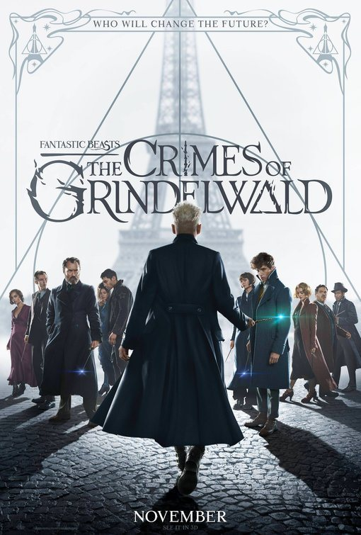 Cartel Reino Unido #3 de 'Animales Fantásticos: Los crímenes de Grindelwald'