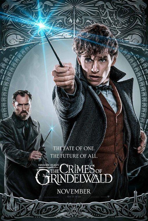 Cartel Reino Unido #4 de 'Animales Fantásticos: Los crímenes de Grindelwald'