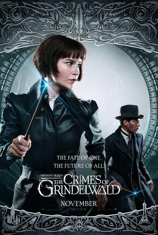 Cartel Reino Unido #5 de 'Animales Fantásticos: Los crímenes de Grindelwald'
