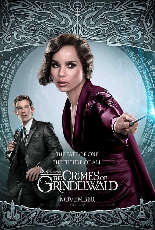 Cartel Reino Unido #8 de 'Animales Fantásticos: Los crímenes de Grindelwald'