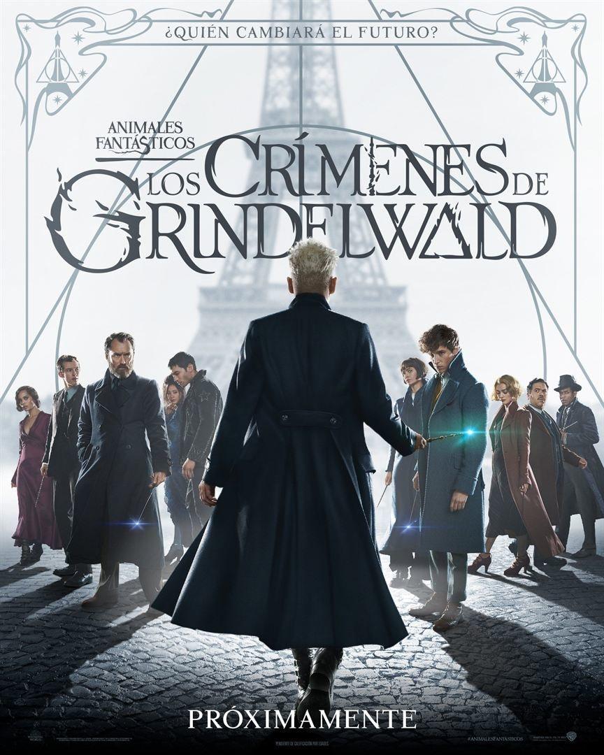 Cartel España #3 de 'Animales Fantásticos: Los crímenes de Grindelwald'