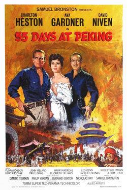 peliculas 55 dias en pekin