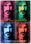 Eat That Question: Frank Zappa en sus propias palabras
