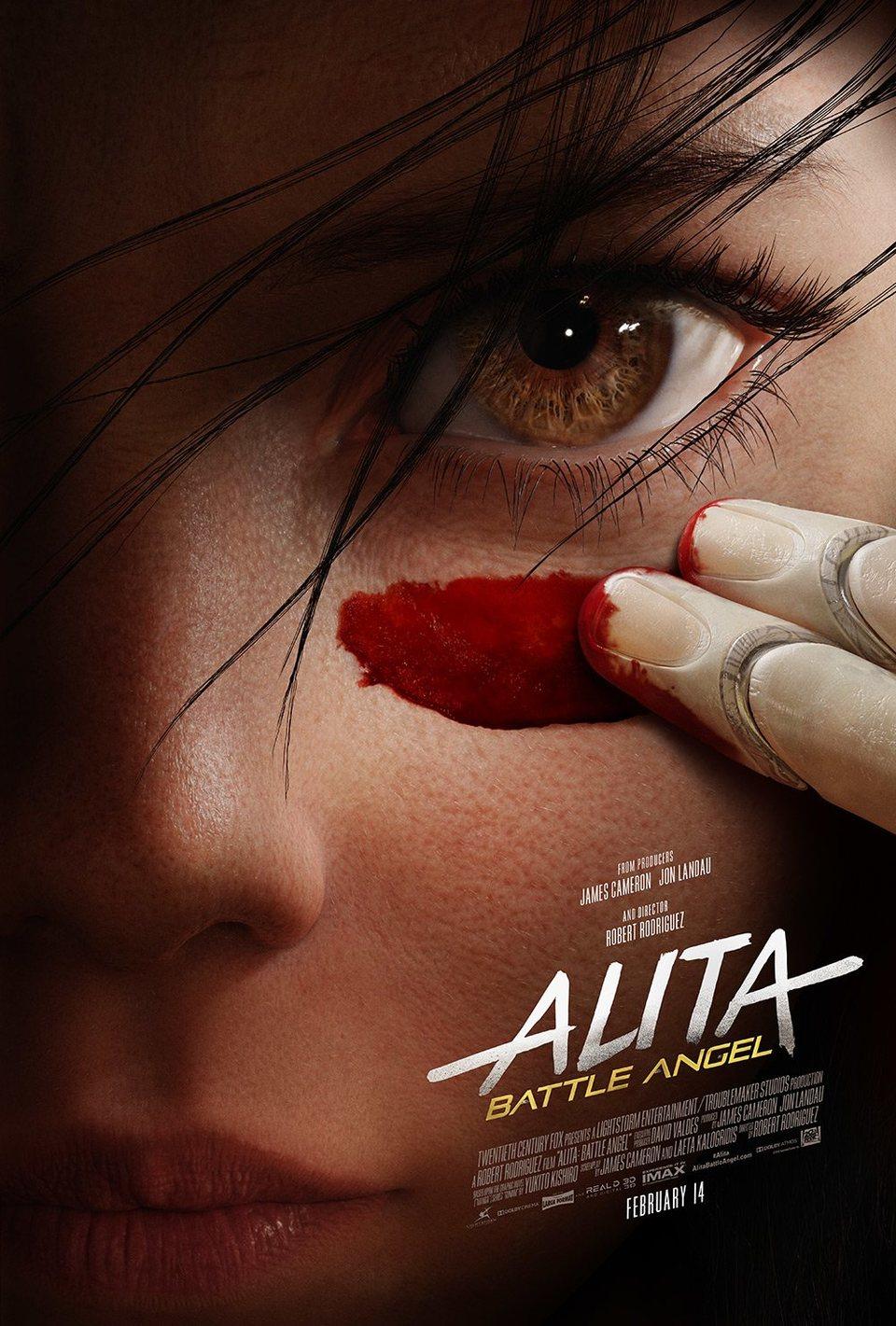 Cartel Poster 'Alita: Ángel de combate' de 'Alita: Ángel de combate'