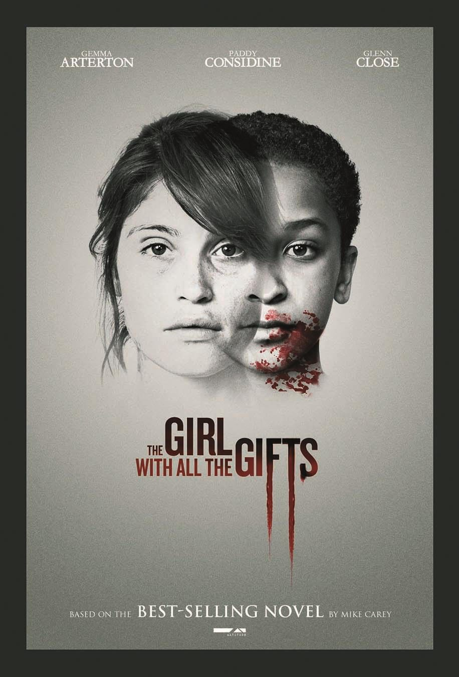 Cartel Reino Unido de 'Melanie. The Girl with All the Gifts'