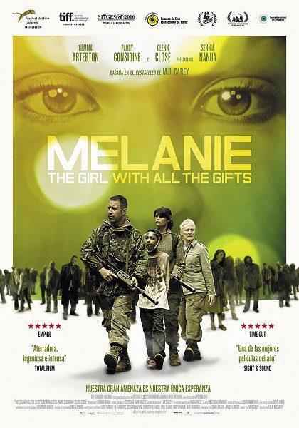 Cartel España de 'Melanie. The Girl with All the Gifts'
