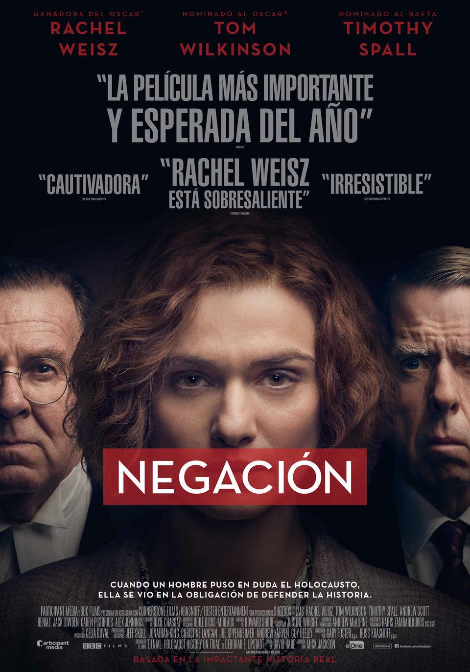 Cartel España de 'Negación'