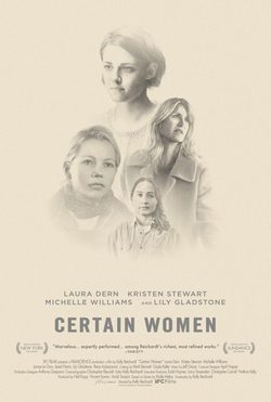Cartel de Certain Women