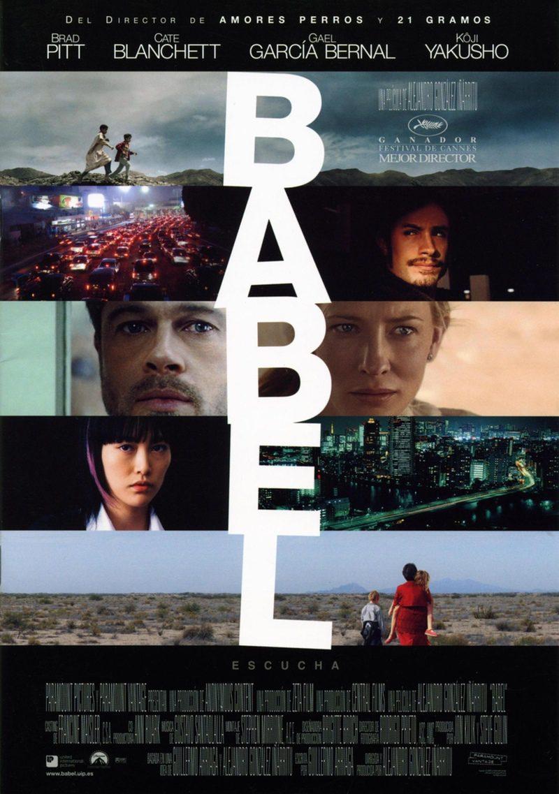 Cartel españa de 'Babel'