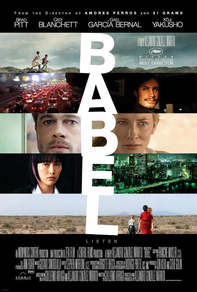 Cartel EEUU de 'Babel'
