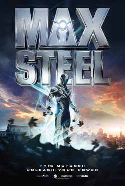 Cartel de Max Steel