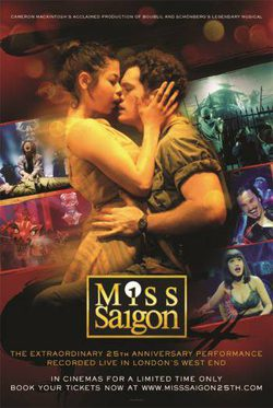 Cartel de Miss Saigon: 25th Anniversary